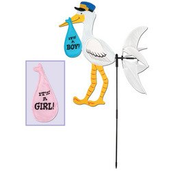Stork Wind-Wheel Party Accessory