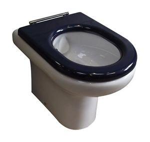 RAK Compact besonderen BedürfNässen Sitz in Blau für Schließen und der back-to-w