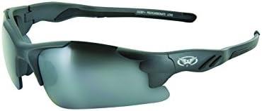 GLOBAL VISION Metro FM バイク用サングラス チャーコールブラックフレーム フラッシュミラーレンズ グローバルビジョン ANSI Z87.1規格 UV400 Global Vision Eyewear バイク ゴーグル