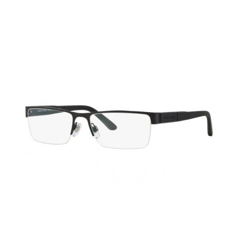 Giorgio Armani Men's Eyewear Frames AR5044 55mm Matte Black 3001