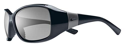 Nike Eyewear Women's Minx EV0579-001 Rectangular Sunglasses, Black, 59 ()