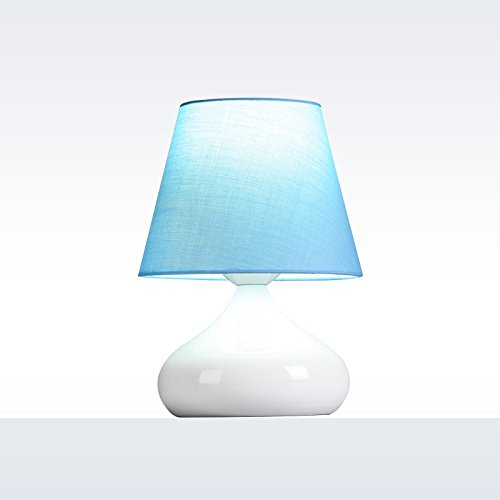 Schön für Kinder Kinder Kinder Tischlampe, warme und romantische Tischlampe, [Blau] warmes Licht Kontaktschalter B074CWP12B | Der neueste Stil  74ea89