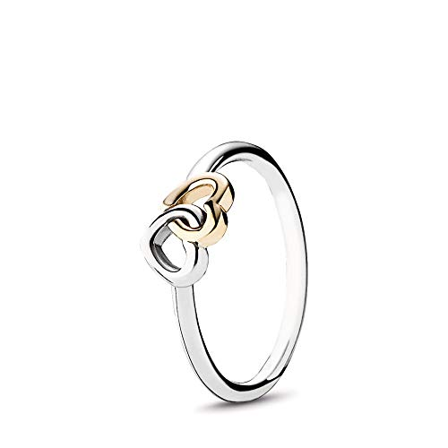Two Hearts Ring - PANDORA - Interlocked Hearts Ring in