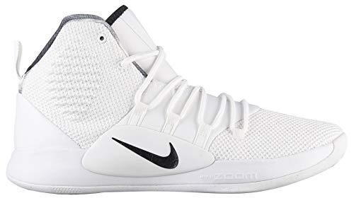 best service 7915b 377b2 Nike Men s Hyperdunk X Mid TB Basketball Shoes (16, White Black)