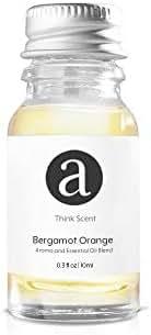Bergamot Orange for Aroma Oil Scent Diffusers - 10 milliliter
