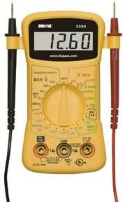 INNOVA 3300 Hands-free Digital Multimeter (10 MegOhm)