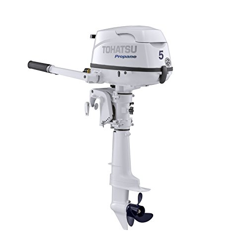 """2018 Tohatsu 5 HP 4-Stroke Outboard Motor Tiller 25"""" for sale  Delivered anywhere in USA"""