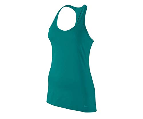 Baseball Fitted Womens Training (Nike Women's Get Fit Training Tank Top-Radiant Emerald-Large)