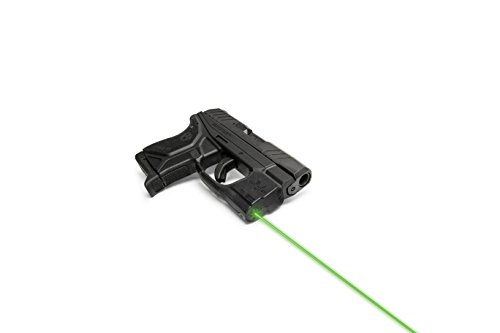 VIRIDIAN WEAPON TECHNOLOGIES 920-0045 Reactor 5 Gen II Green Laser, Fits: Ruger LCP2 with ECR Instant On IWB Holster, Black