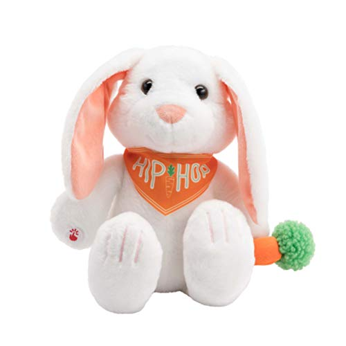 Hallmark Bunny Stuffed Animal - Sings A Fun Easter Version of Rapper's Delight! ()