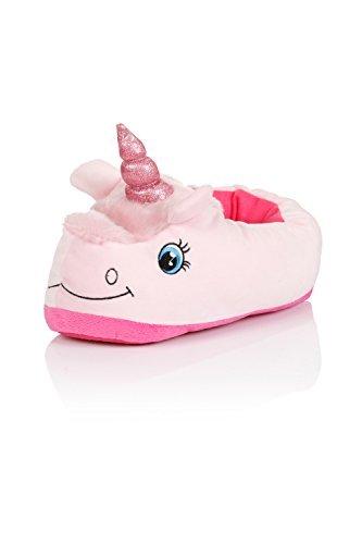 Niña Nifty Kids 3D Novedad Unicornio Pantuflas