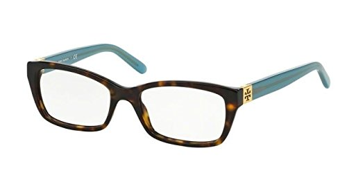 Tory Burch TY2049 Eyeglass Frames 1359-51 - Tortoise Milky Fountain - Burch Men Tory