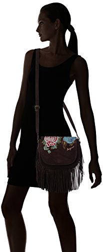ANTEDOTS body Women's Desigual Desigual 6000 ANTEDOTS Cross Bag VARSOVIA Brown EwAxxqnWPU