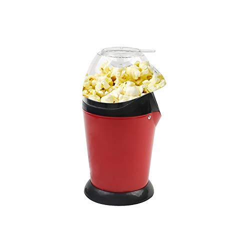Máquina de palomitas de maíz eléctrica portátil automático Mini máquina de palomitas de maíz de aire caliente del hogar DIY niños regalo: Amazon.es: ...