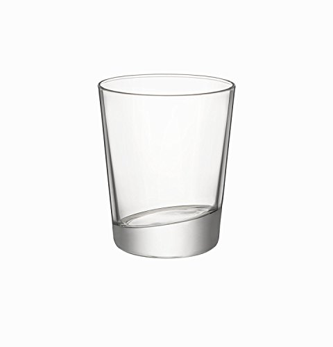 Bormioli Rocco Cometa Double Old Fashioned Glasses, Clear, Set of 4
