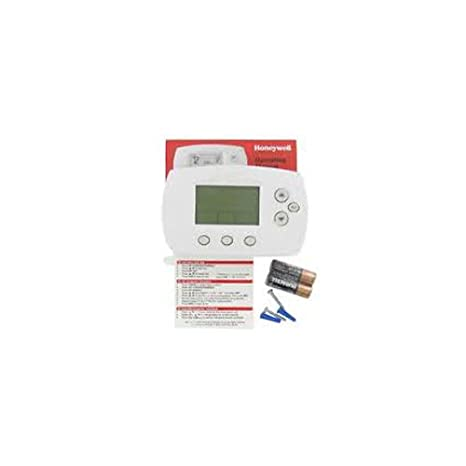 Honeywell TH6110D1005 FocusPRO 6000 Programmable Thermostat White ...