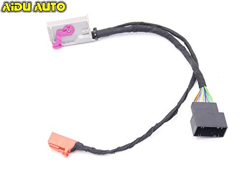 Fastener & Clip Liquid Crystal Virtual Cluster LCD Instrument Cluster Adapter Plug&Play Wire Cable Harness for Audi A3 8V