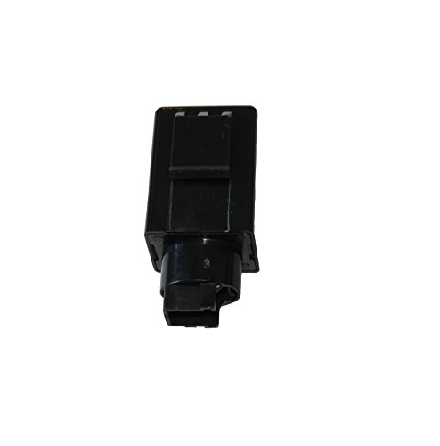 GTSpeed Turn Signal 4 Pin Flash Rate Control Relay Fix Motorcycle Hyper Flash Flasher for Honda Make sure your original relay is 4 pins before purchase