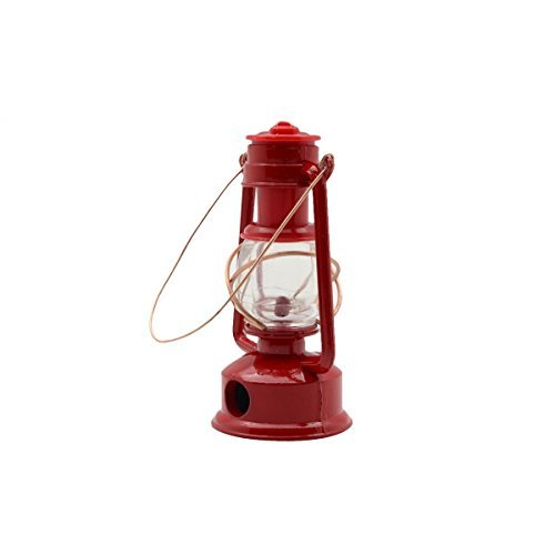 TreasureGurus, LLC 1:4 Scale Miniature Red Gas Camping Lantern Pencil Sharpener