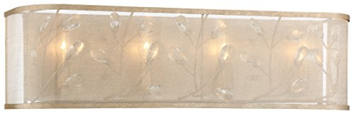 Minka Lavery Minka 3434-252 Transitional Four Light Bath from Sara`S Jewel Collection in Gold, Champ, Gld Leaffinish S by Minka Lavery (Image #1)