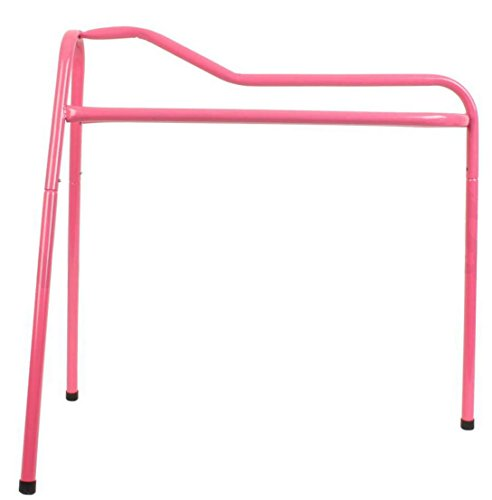 Roma Lightweight Collapsible Saddle Stand - Pink