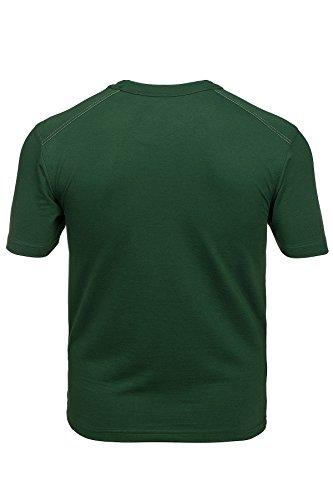 FRISTADS KANSAS Match Shirt Herren T-Shirt Arbeitsshirt Grün 100779 730