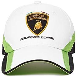Lamborghini Kid's Squadra Corse Cap, White