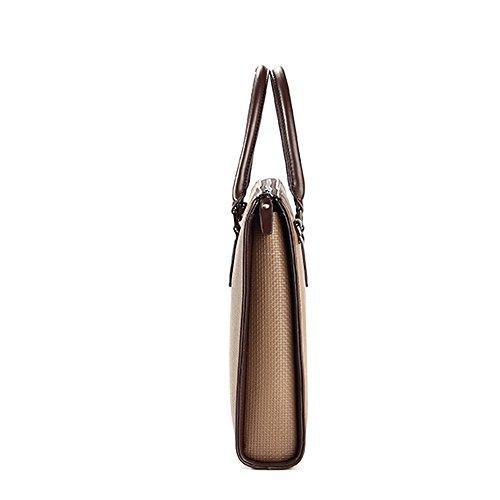 BINSON DENIM Herren Leder Aktentasche Herren Handtaschen Herren Umhängetasche Herren Laptop Tasche Hohe Qualität N2246