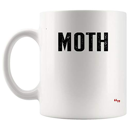 (Gag Mug Coffee Cup - Moth Funny Halloween Costume Sarcastic Meme Couple Joke Gag Hilarious Sarcastic Cups Coffee)