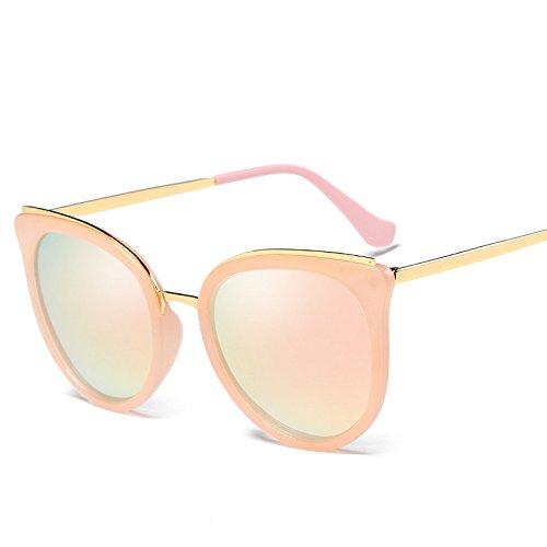 De Sol De Mujeres Moda Protección Irregular Sol Vintage Gafas Pareja De Solar Polarizador De Gafas Conducción Gafas E Medio Polarizado De Gafas Protección Trend Gafas Sol Marco D Redondo UV Sol Unisex qfwrfzIU