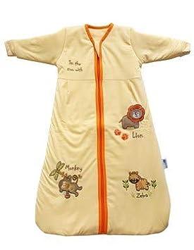 Slumbersac Saco de dormir de bebé Invierno manga larga aprox. 2.5 Tog, Zoo, 0-6 meses