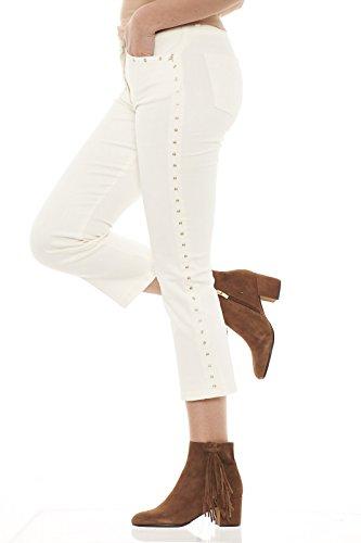 Patrizia Bianco Pepe 8j0505 Con As04 Pantaloni Donna Borchie rH1rw