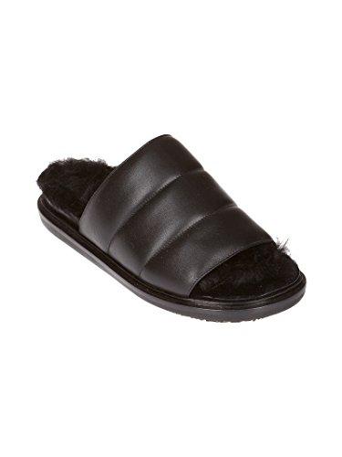 Leather FBMSZ06G01LA56500N99 Black Sandals Marni Women's zxawnqf