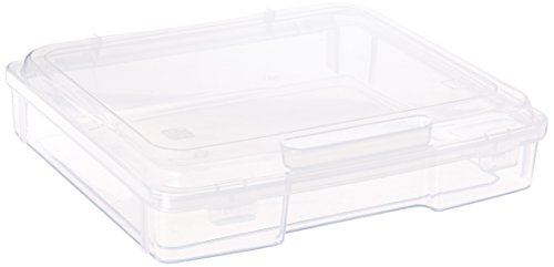 IRIS Portable Project Case, 1 Pack, Clear