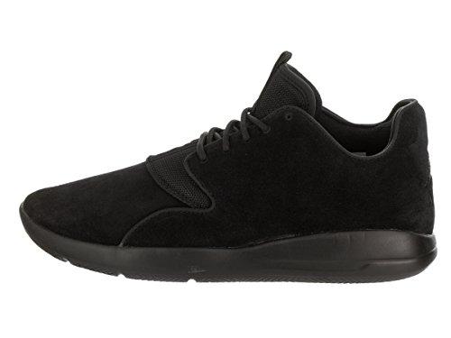 Jordan Nike Herren Eclipse Leder Laufschuh Schwarz Schwarz