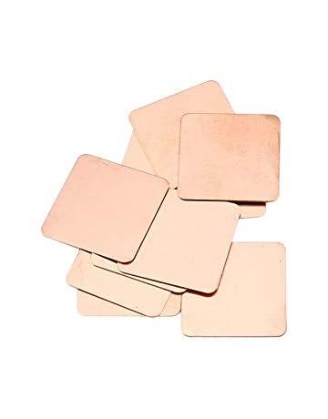 Panamami 10 unids Pure Copper Heatsink Shim Thermal Pad Barrera para Tarjeta Grã¡Fica Portã