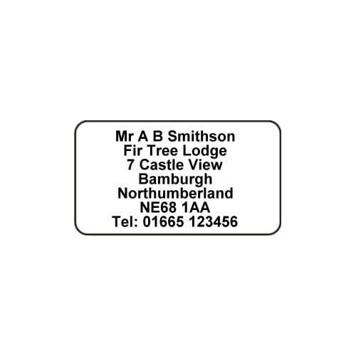 printed address labels amazon co uk