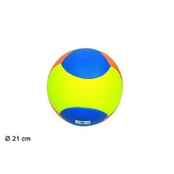 takestop Balón Beach Volley Soccer Multicolor 21 cm playa playa ...