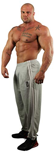 Physique Bodyware Mens Workout Pants. (Extra Large, Grey)
