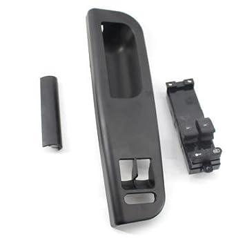 Negro parte delantera izquierda bisel embellecedor de Master Panel Power Window Switch Panel de control con