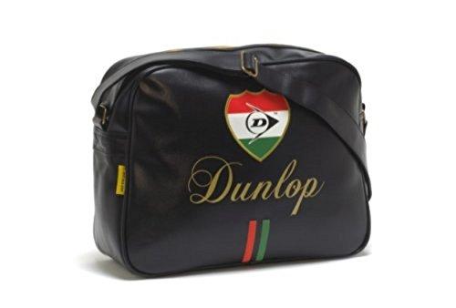 al Bolso Dunlop Rojo Blanco para Negro Hombre Hombro fRS1x8