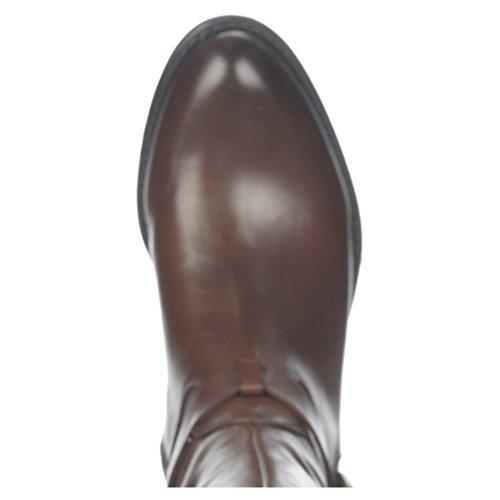 Franco Sarto Womens Corda Wide Calf Riding Boot Oxford Brown i1v9J
