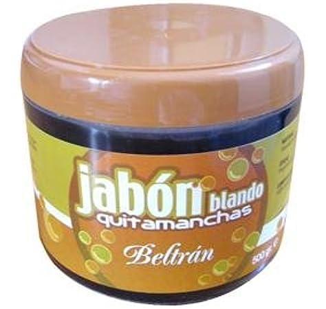 Jabones Beltrán 56058 - Jabón blando Quitamanchas natural Beltrán, 500 g: Amazon.es: Alimentación y bebidas