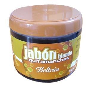 Jabones Beltrán 56058 - Jabón blando Quitamanchas natural Beltrán, 500 g