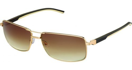 Tag Heuer Automatic 0883 Sunglasses 204 Gold/Grad Brown - Tag Sunglasses Heuer Automatic