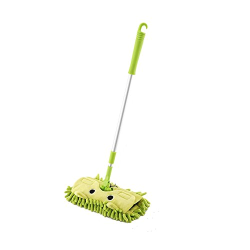 ETbotu childrens-costume-accessories Kids Stretchable Floor Cleaning Tools Mop Broom Dustpan Play-house Toys Gift
