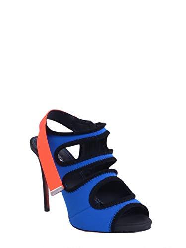Femme Dsquared2 S16c3075513072 Polyester Sandales Bleu 8CrdxCqw