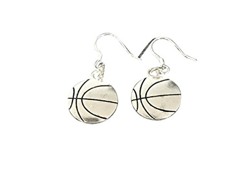 Basketball Earrings- Basketball Jewelry For Girls- Perfect Baketball Gifts for Girls