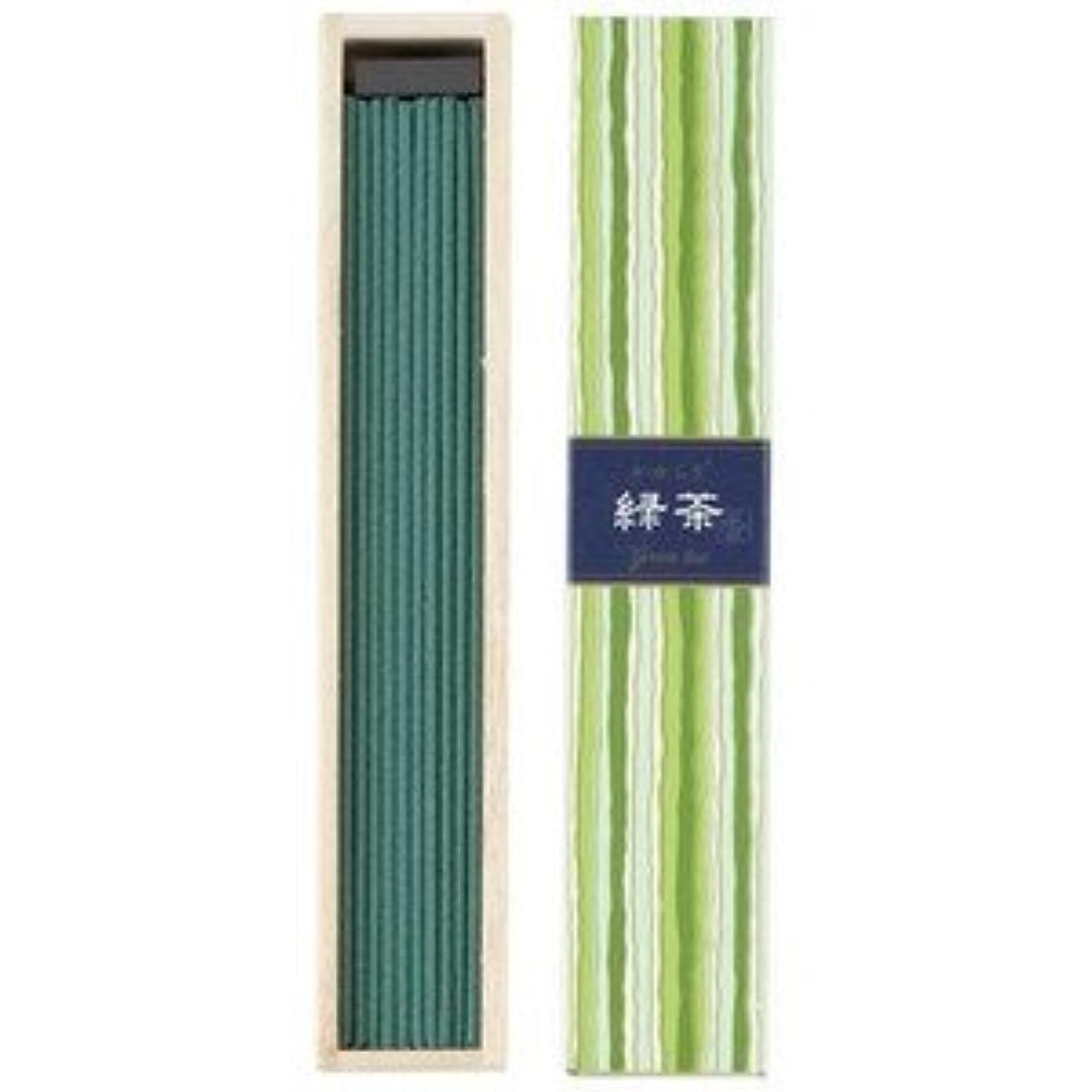 不毛受け皿モーション日本香堂 かゆらぎスティック 緑茶