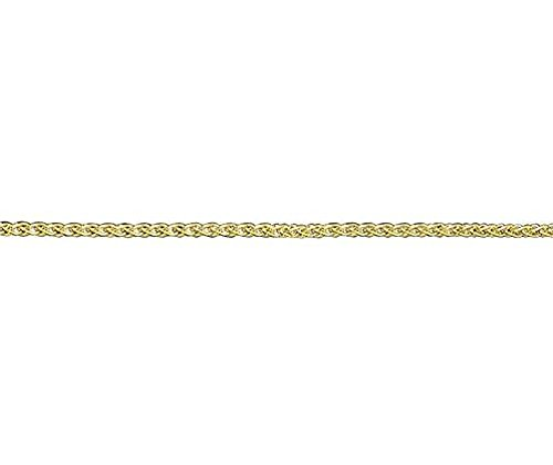 Or 18carats Blanc Coupe Spiga 4019,1cm/Bracelet 19cm
